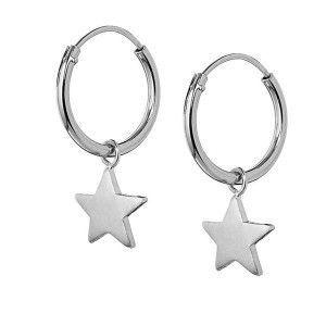 Piercing de Estrella Plata