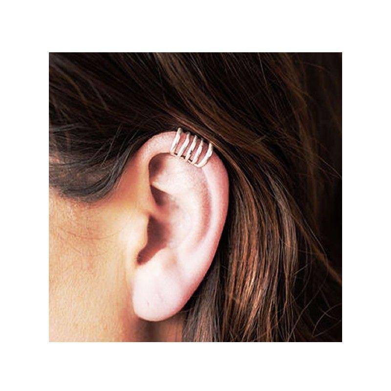 Ear Cuff Plata de Ley