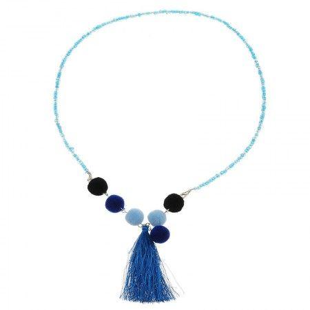Collar Malmok Azul