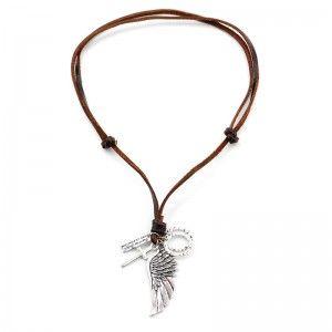 Collar Zylon Silver Hombre Hippie