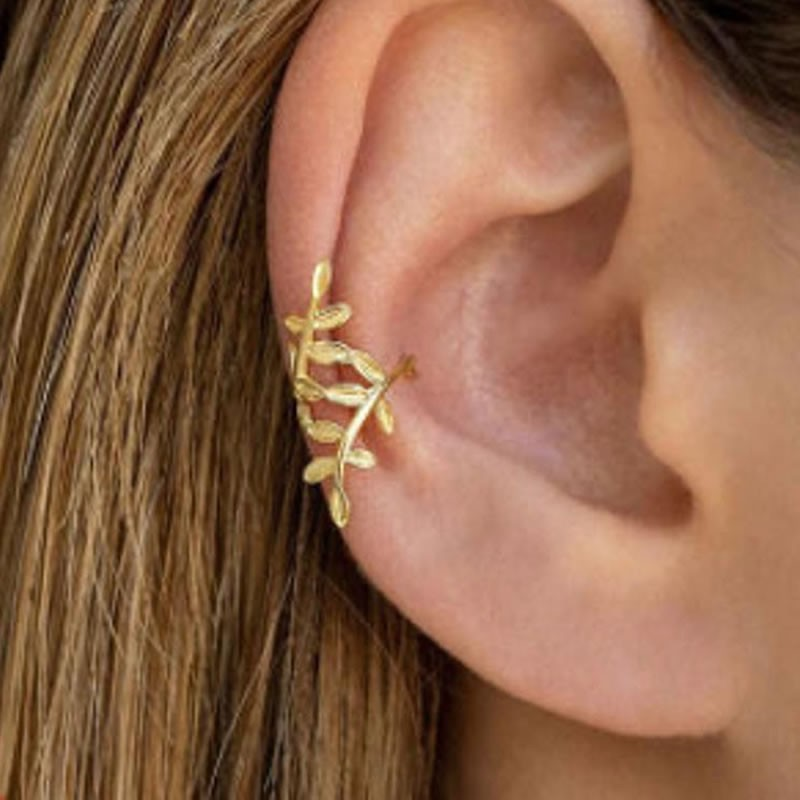 Ear Cuff Ramitas Oro