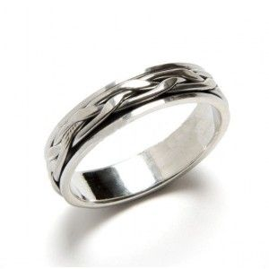 anillo de hombre de plata de ley de www.puravidapulseras.com
