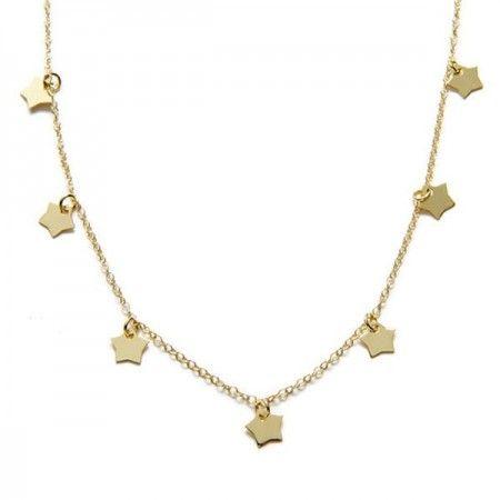 Collar Alshat estrellas