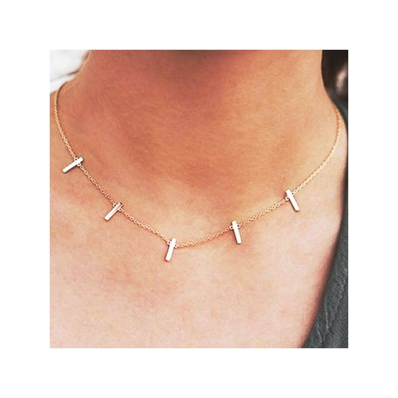 Collar Barritas Kyashar Oro
