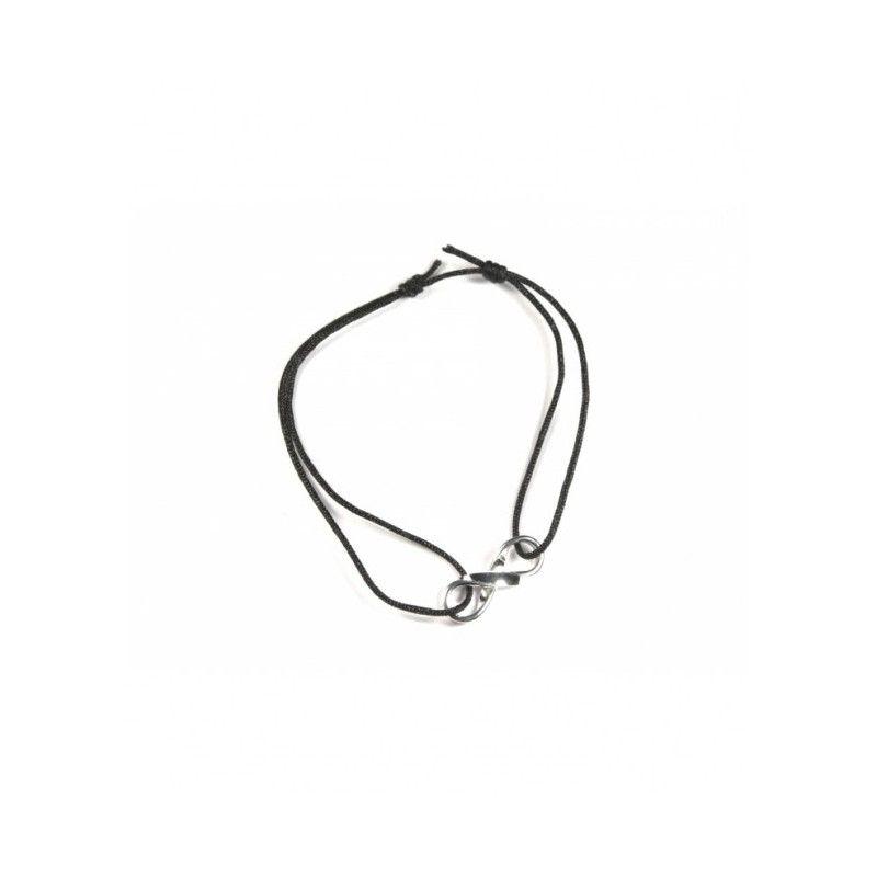 pulsera de hilo infinito de plata en www.puravidapulseras.com