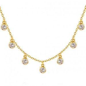Collar Monet Circonitas oro