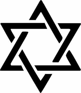 Simbolo Estrella de David