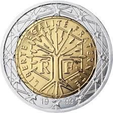 Moneda Francia Arbol de la Vida